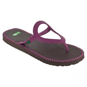 Sanuk Women's Ibiza Stitch Sandals - Fuchsia