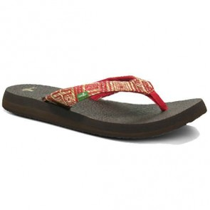 Sanuk Women's Yoga Chi Sandals - Red