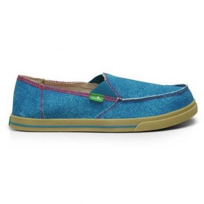 Sanuk Women's Carbrio Breeze Sidewalk Surfers - Marine Blue