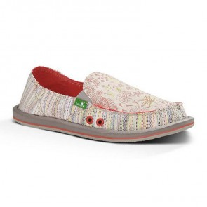 Sanuk Women's Scribble Sidewalk Surfers - Tropical