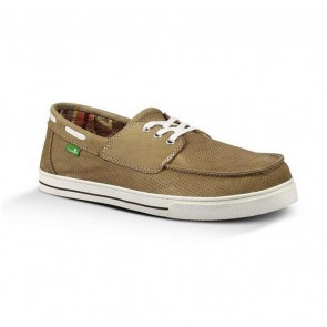 Sanuk Motorboat Sidewalk Surfers - Tan