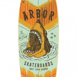 Arbor Skateboards GB Sizzler Shark Complete