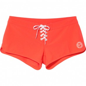 Billabong Women's Stars Here Boardshorts - Red Hot
