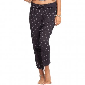 Billabong Women's Turn Away Beach Pants - Off Black