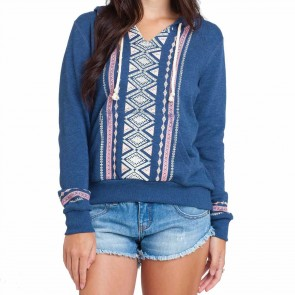 Billabong Women's Love Of Roots Hoodie - Blue Moon