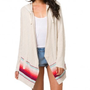 Billabong Women's Things To Come Cardigan - Oatmeal Heather