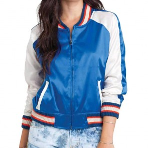 Billabong Women's Beach Tripper Jacket - Vivid Blue