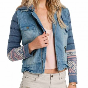 Billabong Women's Midnight Drifter Jacket - Medium Well Worn