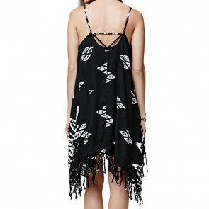 Billabong Women's Sunlit Summer Dress - Off Black
