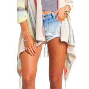 Billabong Women's Beach Rambler Sweater - Oatmeal Heather