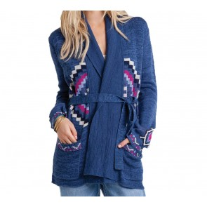 Billabong Women's Leaving This Behind Sweater - Blue Moon