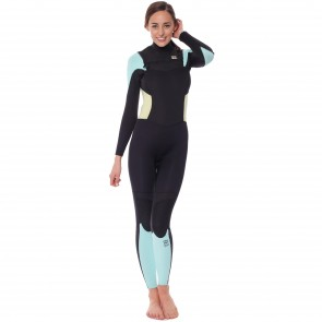 Billabong Women's Synergy 4/3 Chest Zip Wetsuit