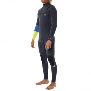 Billabong Rev Invert 3/2 Chest Zip Wetsuit - Lime