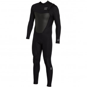 Billabong Foil Plus 3/2 Chest Zip Wetsuit - Black