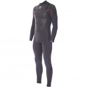 Billabong Furnace 3/2 Chest Zip Wetsuit - Graphite