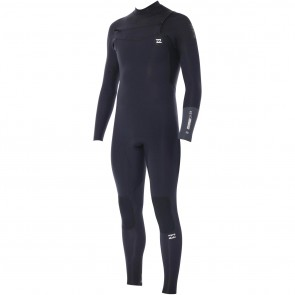 Billabong Revolution 3/2 Chest Zip Wetsuit - Black