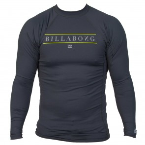 Billabong Wetsuits All Day Long Sleeve Rash Guard - Charcoal