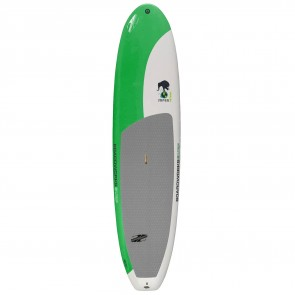 Boardworks Surf - 10'6 Super Natural SUP - Green/Light Grey