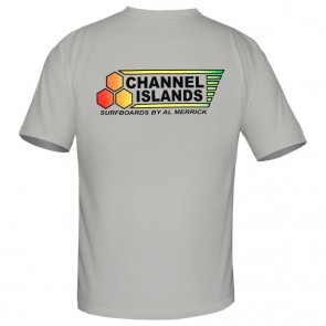 Channel Islands Rasta Flag T-Shirt - Grey