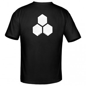 Channel Islands Curren White Hex T-Shirt - Black