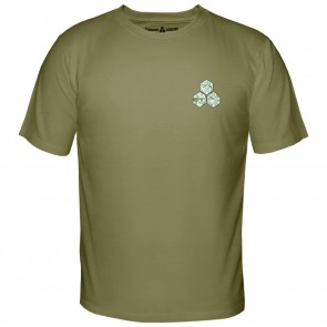 Channel Islands Digi Camo Hex T-Shirt - Military Green