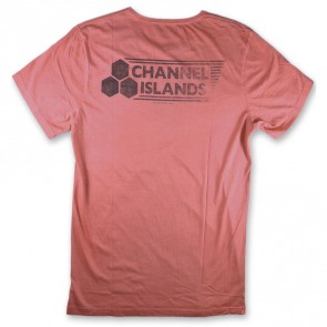 Channel Islands Stamped Logo T-Shirt - Rose Washed