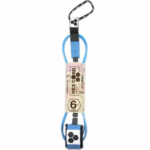 Channel Islands Hex Cord Comp Leash - Blue