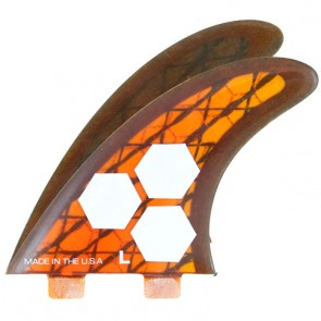 Channel Islands Fins - Tech 3 AM2 - Orange/Carbon