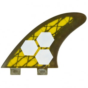Channel Islands Fins - Tech 3 AM2 - Yellow/Carbon