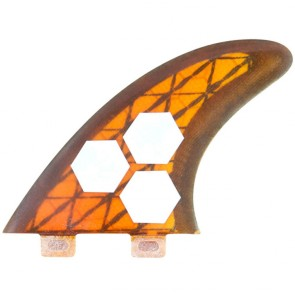 Channel Islands Fins - Tech 3 AM1 - Orange/Carbon