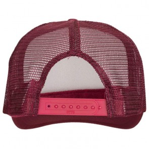 Depactus Wordmark Trucker Hat - Burgundy