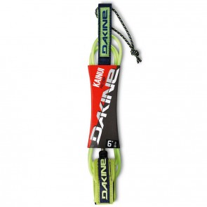 Dakine Kainui Pro Comp Leash - Lime/Navy