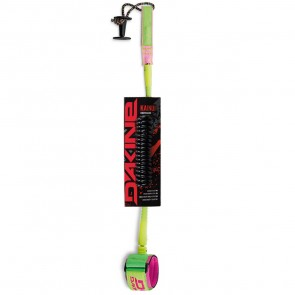 Dakine Kainui Coiled Bodyboard Leash - Lime/Pink