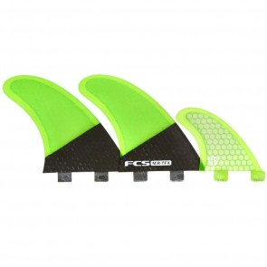FCS Fins MR TFX PC Twin - Fluro Green