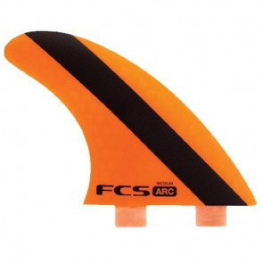 FCS Fins - ARC PC - Orange Hex