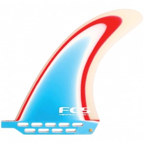 FCS Fins 7'' Delpero - Red/White/Blue
