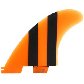 FCS II Fins - Accelerator Limited Edition PG Medium - Neon Orange/Black
