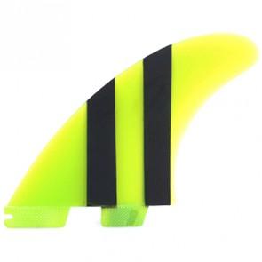 FCS II Fins Carver Limited Edition PG Large - Lime/Black