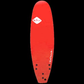 Softech Surfboards - 6'0'' Handshaped Softtop Surfboard - Red