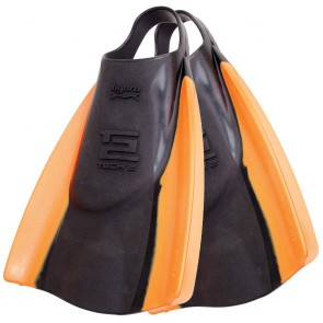 FCS Hydro Tech 2 Swim Fins - Black/Orange
