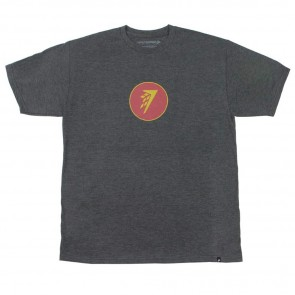Firewire Surfboards Circle Icon T-Shirt - Charcoal Heather