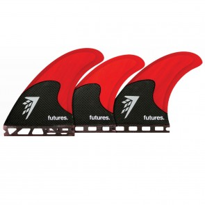Futures Fins - Firewire Tri-Quad - Red/Carbon