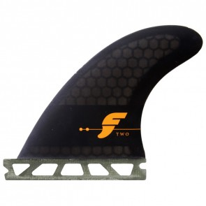 Futures Fins - F2 Honeycomb - Smoke/Black