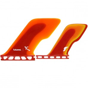 Futures Fins ...Lost Slingshot Quad - Red/Orange/Yellow