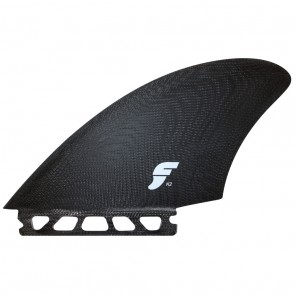Futures Fins K2 Keel Twin - Solid Black