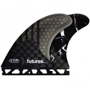 Futures Fins HS1 Generation - Carbon/Smoke