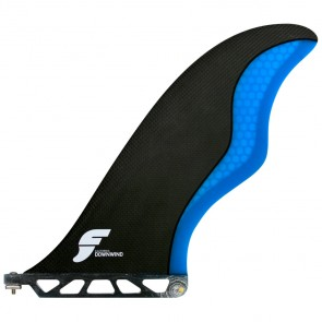 Futures Fins - 9.5'' CA Downwind SUP Fin - Carbon/Blue