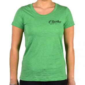 Cleanline Women's Eagle Scoop Top - Green