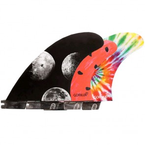 Gorilla Moon Beams Melon Tri-Quad Fins - FCS II