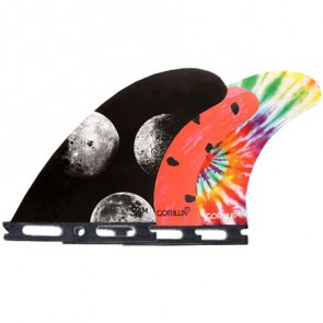 Gorilla Moon Beams Melon Tri-Quad Fins - Futures
